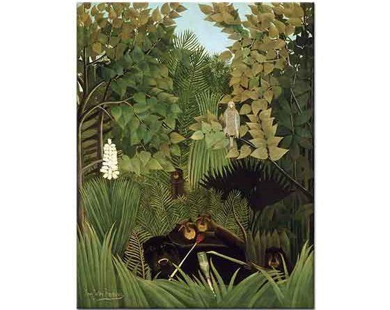 Henri Rousseau Soytarıların Neşesi