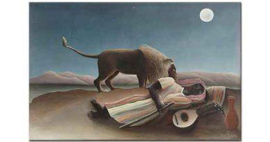 Henri Rousseau Uyuyan Çingene