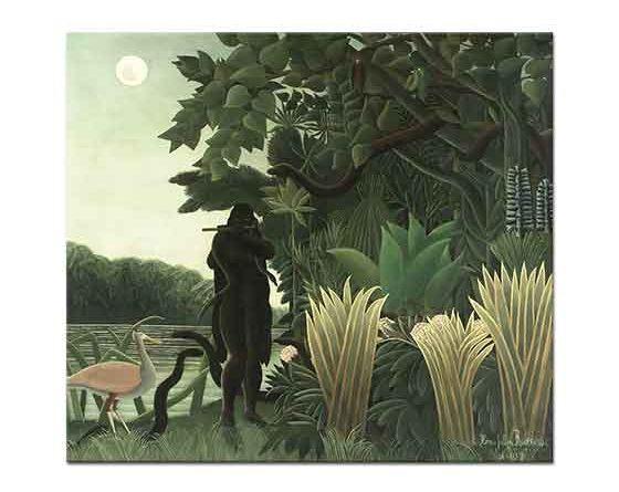 Henri Rousseau Yılan Oynatıcısı