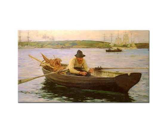 Henry Scott Tuke Balıkçı