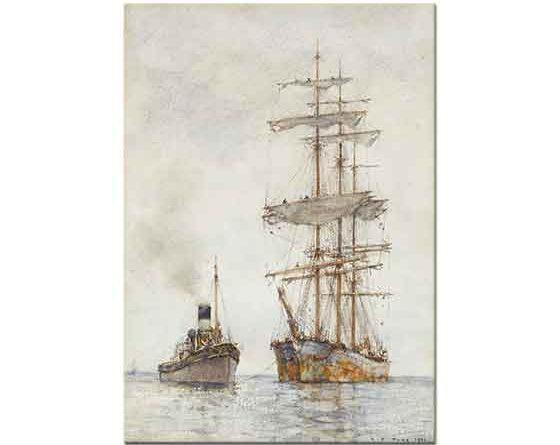 Henry Scott Tuke Yelkenli