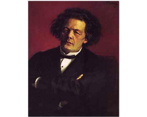 Ilya Efimovich Repin Anton Rubinstein