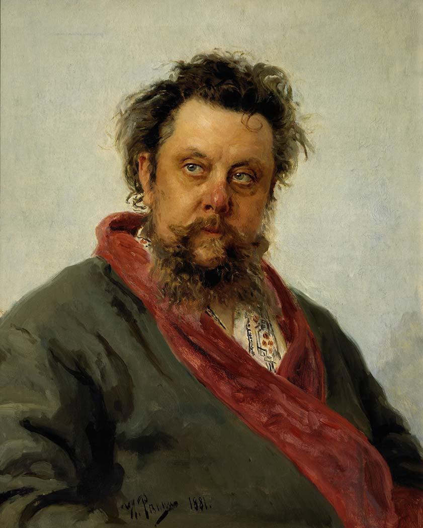 Ilya Efimovich Repin Modest Musorgsky