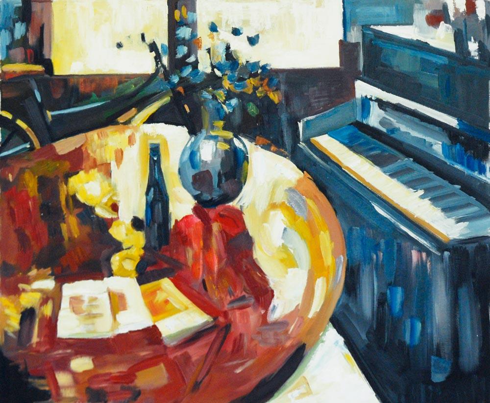 Piyano Başında