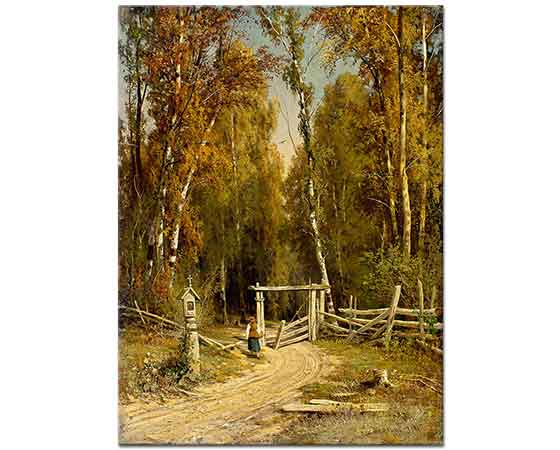 Ivan Shishkin Orman Kenarında