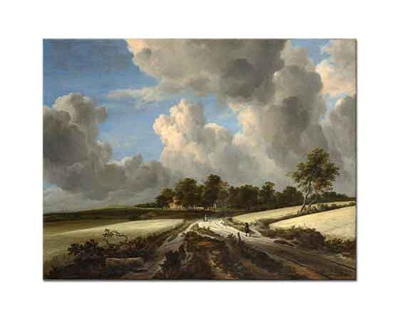 Jacob van Ruisdael Köy Yolu