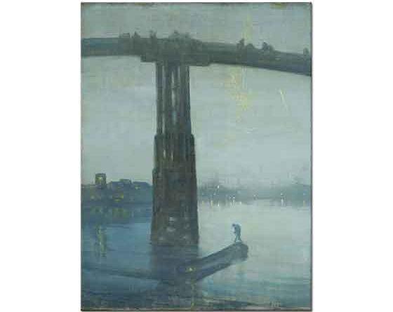 James Abbott McNeill Whistler Köprü Altından