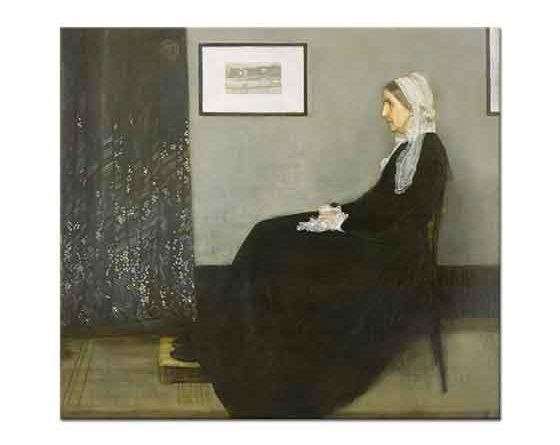 James Abbott McNeill Whistler Sanatçının Annesi