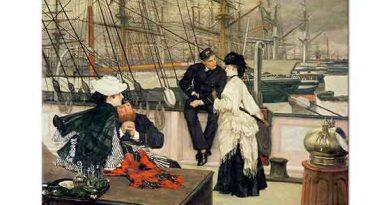 James Tissot Kaptan ve Karısı
