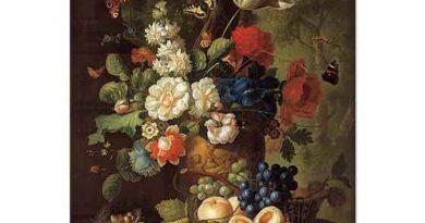 Jan van Os Vazoda Çiçek Buketi