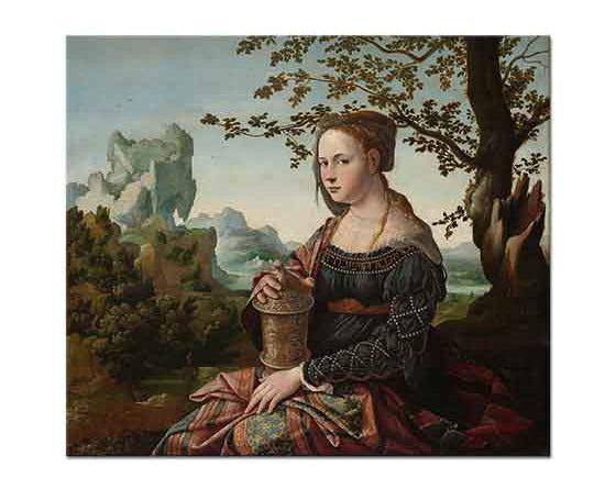 Jan van Scorel Kadın Portresi Maria Magdalena