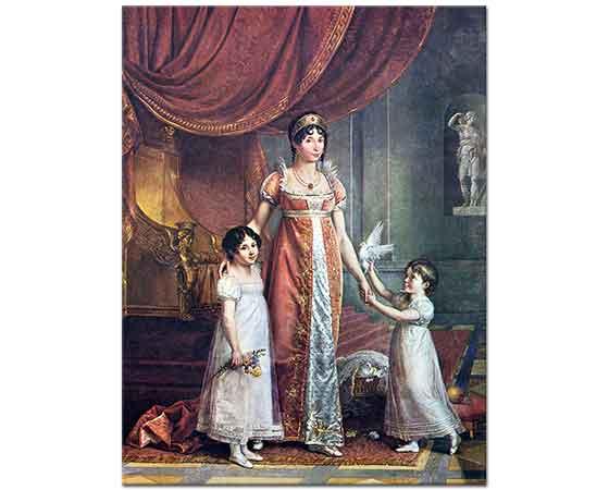 Jean Baptiste Wicar Kraliçe Julia Bonaparte