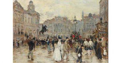 Jean Francois Raffaelli Edinburgh Prenses Caddesi