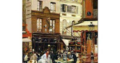 Jean Francois Raffaelli Montmartre Bulvarı