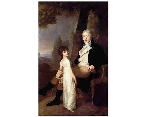 Johann Friedrich August Tischbein Baba Kız