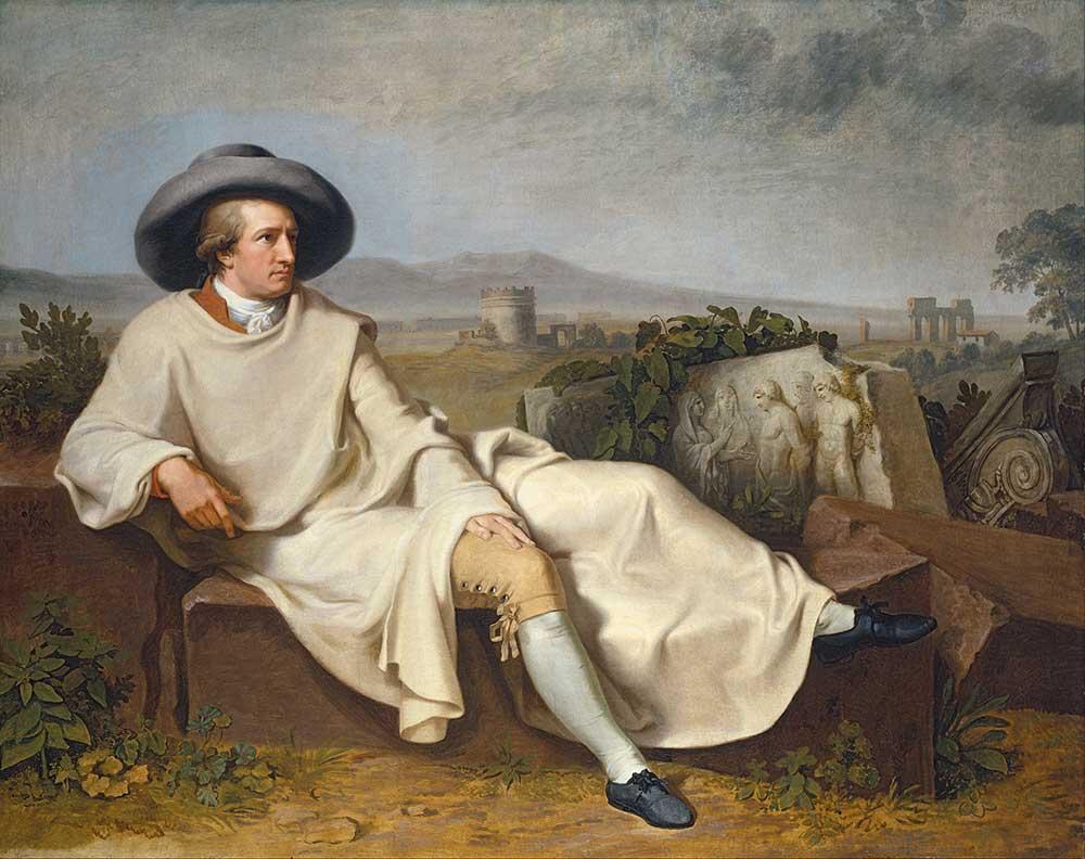 Johann Heinrich Wilhelm Tischbein Goethe