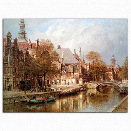 Johannes Christian Karel Klinkenberg Amsterdam Manzarası