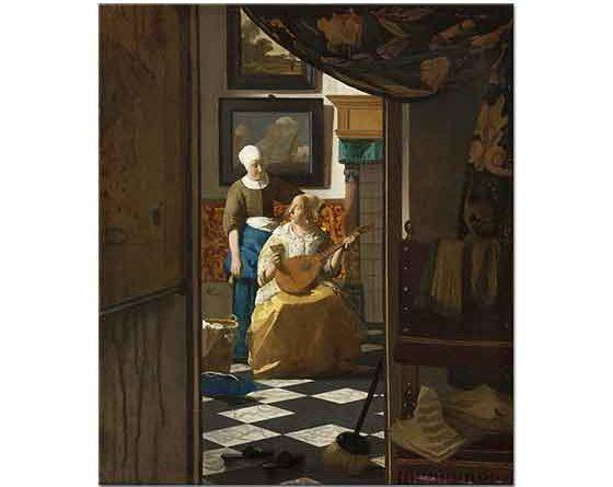 Johannes Vermeer Aşk Mektubu