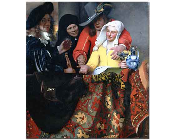 Johannes Vermeer Balkonda