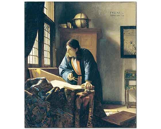 Johannes Vermeer Coğrafyacı
