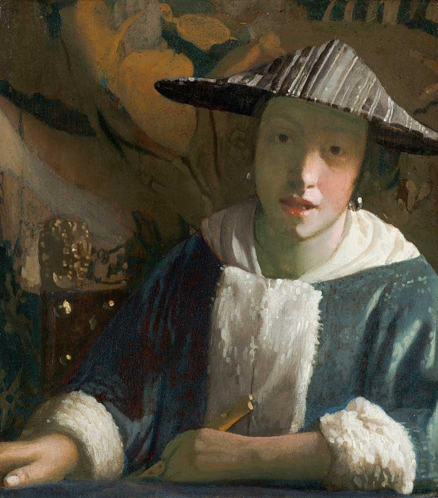 Johannes Vermeer Genç Kız Portresi