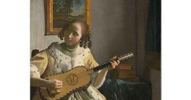 Johannes Vermeer Gitarist