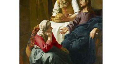 Johannes Vermeer Isa ile Sohbet