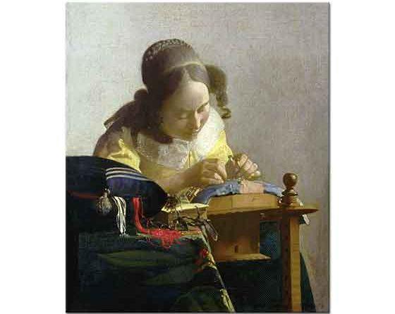 Johannes Vermeer Örgü Ören Kız