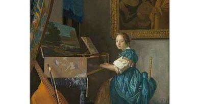 Johannes Vermeer Piyano Başında
