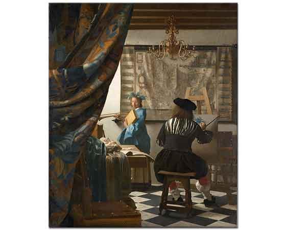 Johannes Vermeer Resim Sanatı