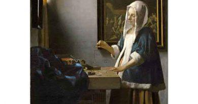 Johannes Vermeer Tartı Başındaki Kadın