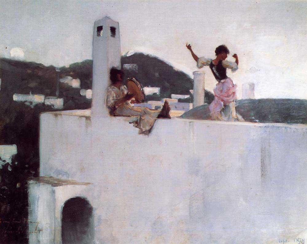 John Singer Sargent Capri