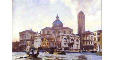 John Singer Sargent Venedik Palazzo Labia