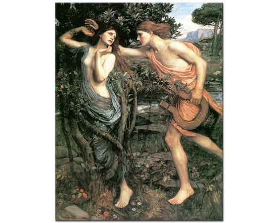 John William Waterhouse Apollo ve Daphne