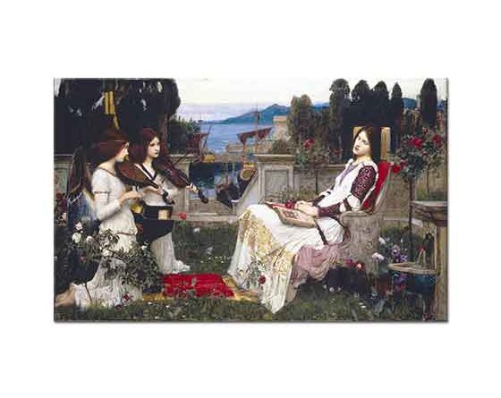 John William Waterhouse Azize Cecilia