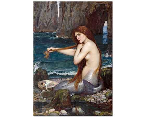 John William Waterhouse Deniz Kızı