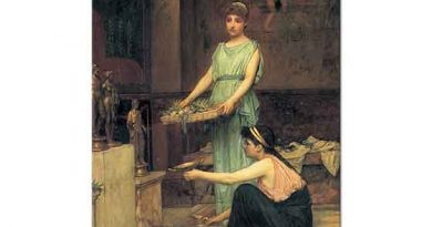 John William Waterhouse Ev Halkının ibadeti