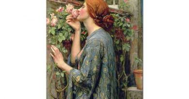 John William Waterhouse Gülün Ruhu