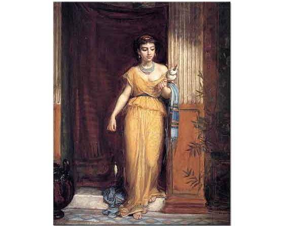 John William Waterhouse iplik Saran Kadın