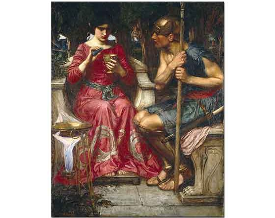 John William Waterhouse Jason ve Medea