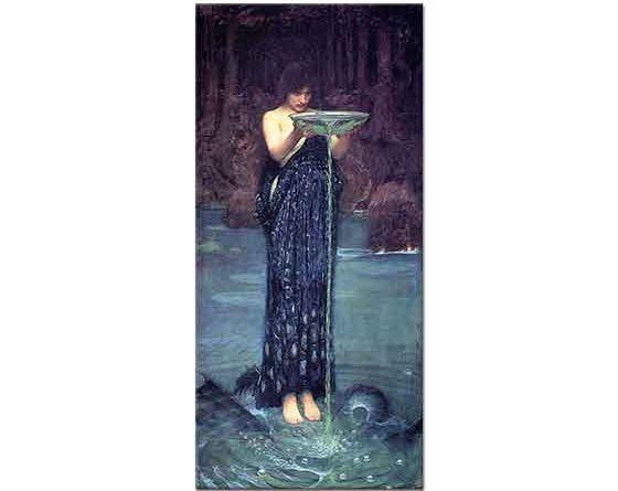 John William Waterhouse Kıskançlık Büyüsü