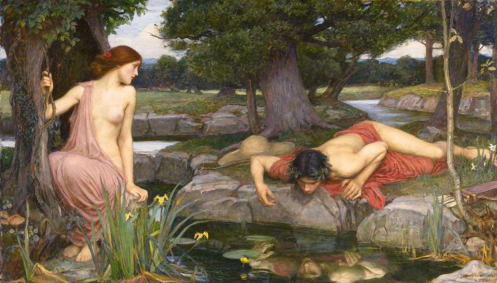 John William Waterhouse Narcissus ve Echo