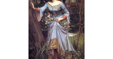 John William Waterhouse Ormanda Ophelia