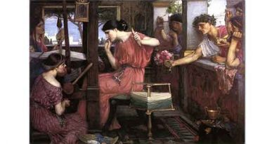 John William Waterhouse Penelope'nin Taliplileri