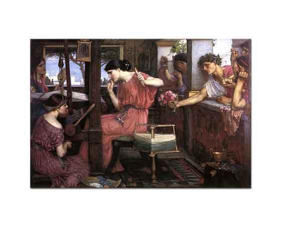 John William Waterhouse Penelope'nin Taliplileri