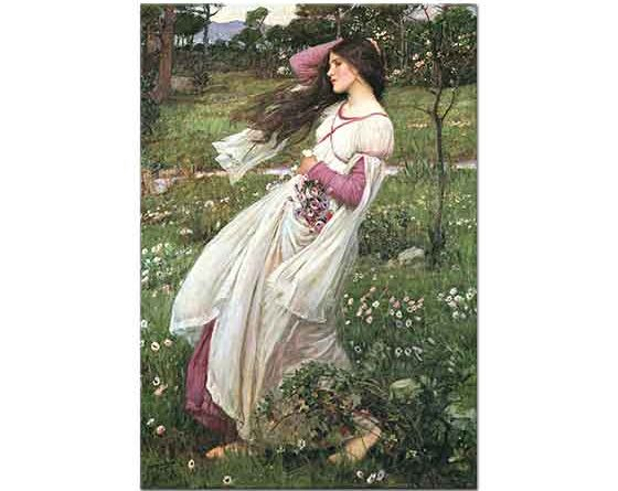 John William Waterhouse Rüzgar Esintisi
