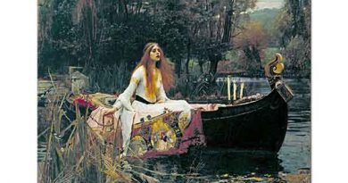 John William Waterhouse Shalott Leydisi