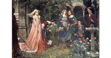 John William Waterhouse Tılsımlı Bahçe