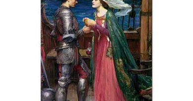 John William Waterhouse Tristan ve Isolde iksir içerken