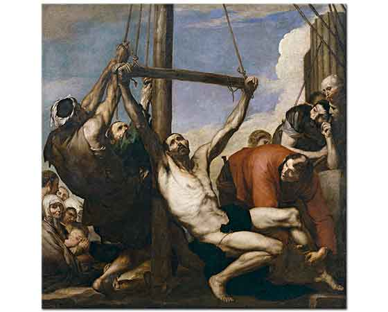 Jose de Ribera Aziz Bartolome'ye işkence Edilirken